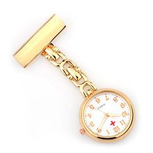 Медсестры часы клип на fob карманные для доктора медицинская