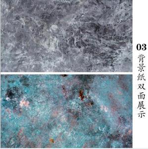 Image 4 - 57*87cm תוספות סגנון כפול צדדים עץ שיש מלט קיר כמו בציר צילום רקע רקע נייר לוח אבזר עבור מזון
