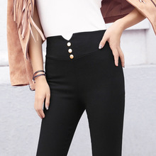 2016 Autumn and Winter New Pattern Underpant High Waist Row Buckle Other Clothes Underpant Pencil pants leggings 8808
