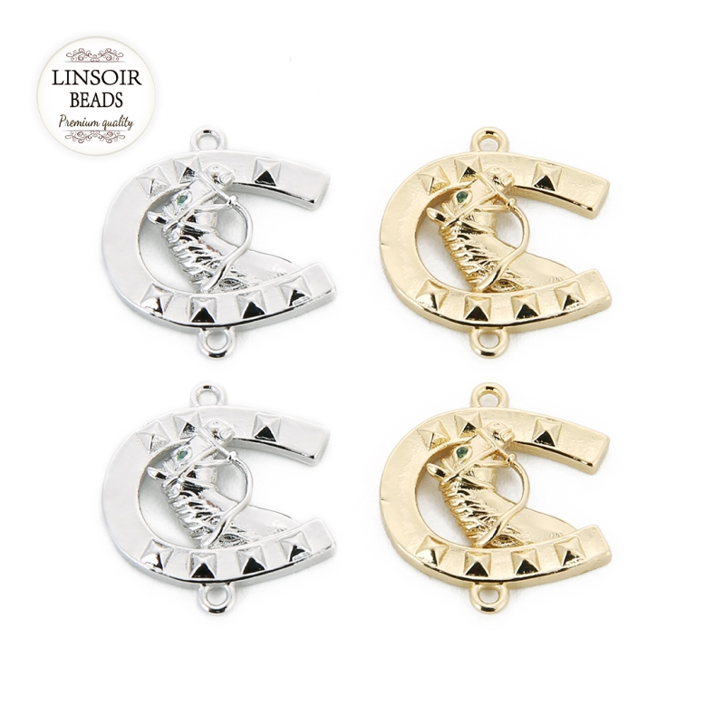 Jewelry Pendant Connector Charm for DIY Crafts Earring Bracelet Accessories