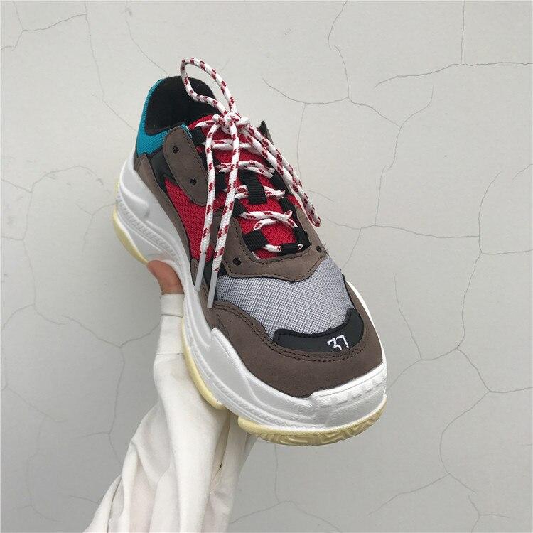 2019 novos homens sapatos casuais camurça malha tênis de rua moda hip hop pai tênis homem calçado adulto tenis masculino adulto