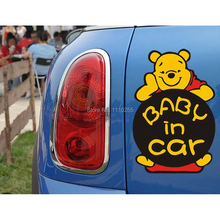 Aliauto Bear Baby in Car Sticker And Decal Accessories for Tesla Ford focus Chevrolet cruze Volkswagen