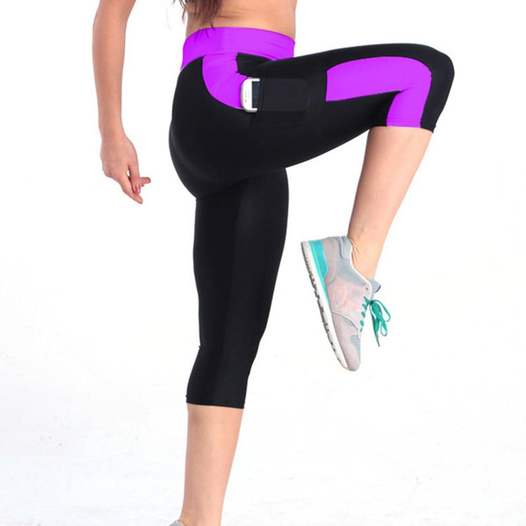 79daa5ae09f 🛒[mq7m7] Calf length Pants Capri Pant Sport leggings Women Fitness ...