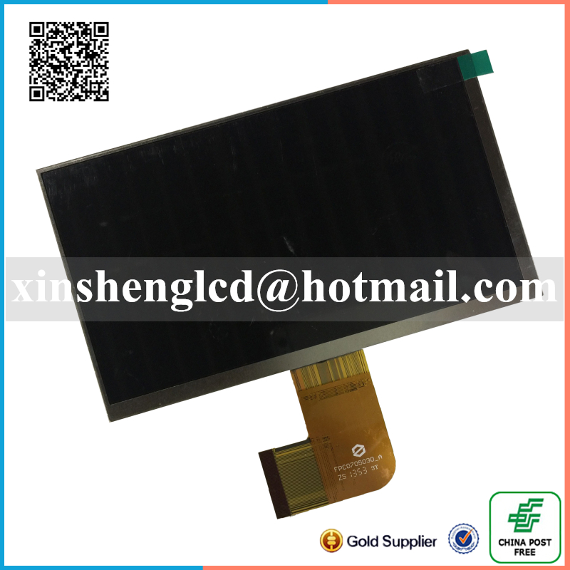 ФОТО Original 7'' inch LCD Display Panel FPC0705030_A for Tablet pc LCD screen Replacement Free shipping