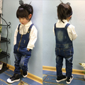 2016 Hot Selling Baby Overalls Spring&Autumn Solid Pattern Denim Overalls,Pretty Kid Overalls