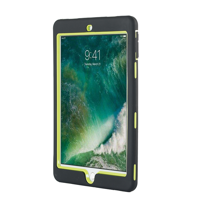 2018 For iPad mini 1/2/3 case Retina Shock Proof Rugged Rubber TPU+PC Heavy Duty Tablet Strong Cover forro para for ipad mini gadget
