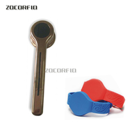 Golden Color Rfid Digital Lock For Sauna Spa Swimming Pool Gym Electronic Cabinet Lock Lockers +one wristband
