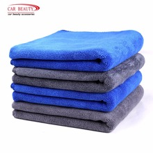4 szt. 70x30cm profesjonalne ręczniki z mikrofibry samochodowej 400GSM zagęścić suszenie umyć Detailing polerowanie polerowanie woskowe ręcznik