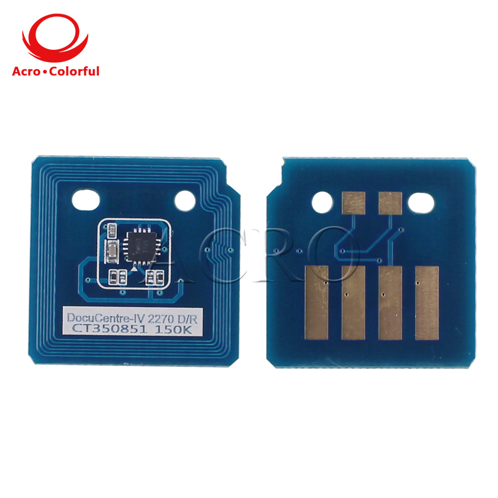 Chip for xerox 5570 DocuCentre-IV C5570 4470 3370 22702270 toner reset Laser printer cartridge chip