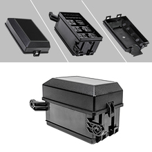 12 Slot Relay Box 6 Relays 6 ATC/ATO Standard Fuses Holder Block with 41pcs Metallic Pins Universal for Automotive and Marine