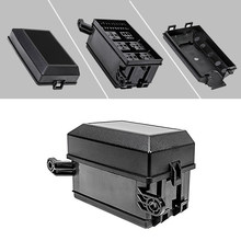12-slot relay box 6 relays 6 atc/ato standard fuses holder block with 41pcs  metallic pins universal for automotive and marine