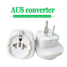 1PC 10A 250V Electric Plug power Socket Adapter Australia Travel EU US TO AU socket AC Power Charger Converter