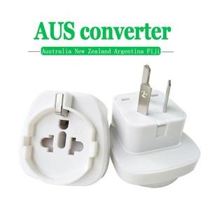 Image 1 - 1PC 10A 250V Electric Plug power Socket Adapter Australia Travel Adapter EU US TO AU socket AC Power Charger Converter