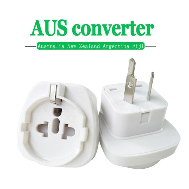 1PC 10A 250V Electric Plug power Socket Adapter Australia Travel Adapter EU US TO AU socket AC Power Charger Converter