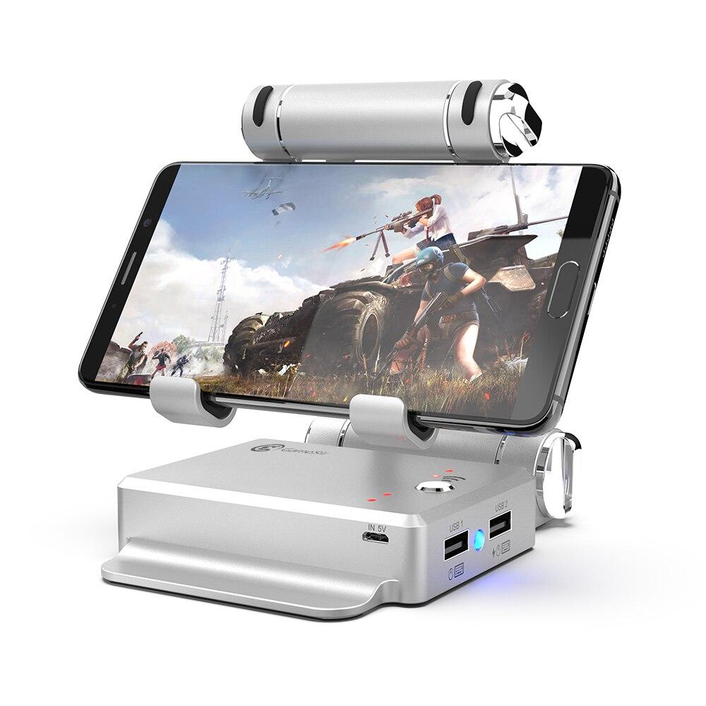 GameSir X1 BattleDock Convertitore della Tastiera e Mouse Adapte per PUBG giochi per Cellulari, AoV, Mobile Leggende, RoS, coltelli Fuori, Fuoco libero