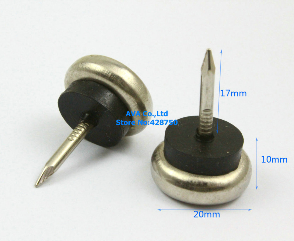 16 Pieces 20mm Metal Chair Feet Nail Glide Nail Furniture Feet Bottom  Protect In Tacks From Home Improvement On Aliexpress.com | Alibaba Group