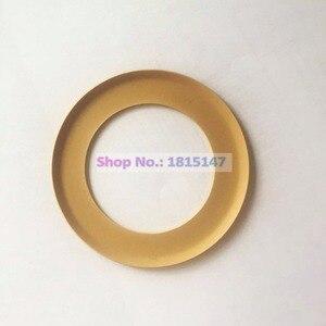 Image 1 - 2 pces, peças sobresselentes oilfree do compressor de ar do anel 74.2*48*0.9 do pistão, anel material de ptfe