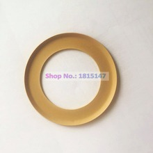 2pcs, Piston ring 74.2*48*0.9 Oilfree air compressor spare parts, PTFE material ring
