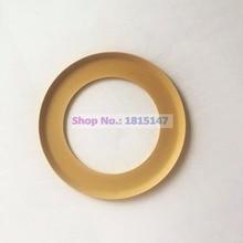 2pcs, Pistone anello di 74.2*48*0.9 Senza Olio compressore daria pezzi di ricambio, PTFE anello di materiale