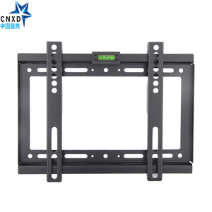 Image 2 - Тонкий светодиодный настенный кронштейн для телевизора с ЖК экраном, 14 ~ 32 дюйма, Max VESA 200*200 мм, сверхпрочный вес 88 фунтов