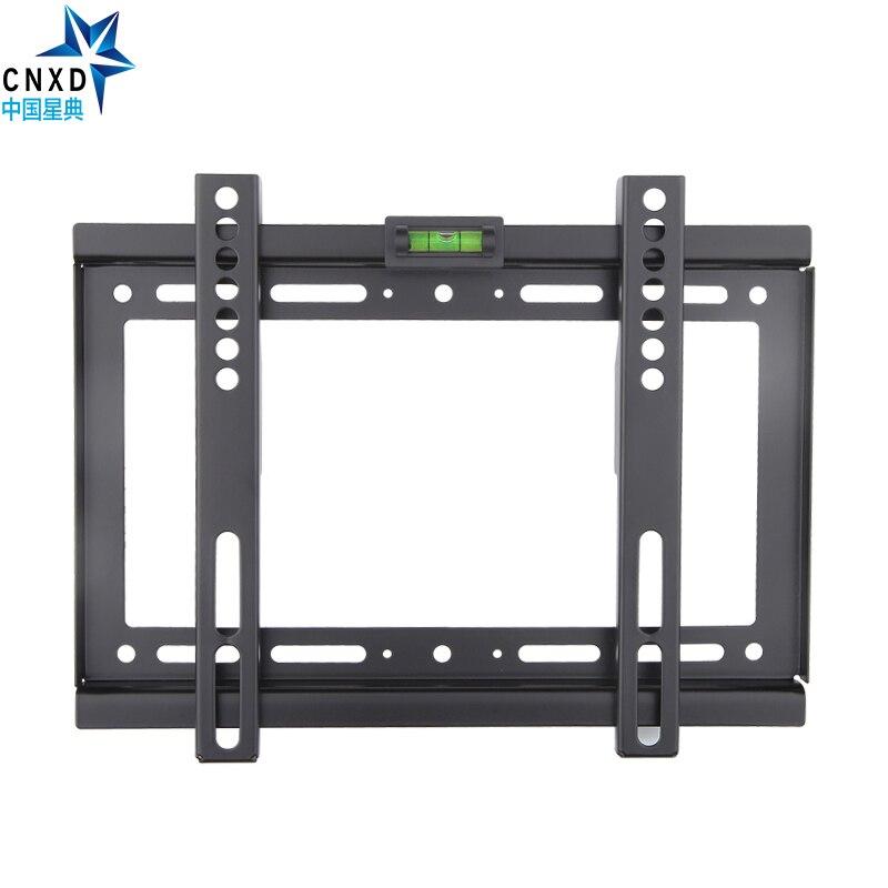 slim lcd led plasma tv wall mount bracket 14 32 inch max vesa 200 200mm super strong 88lbs. Black Bedroom Furniture Sets. Home Design Ideas