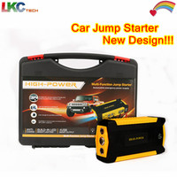 2016 Newest Two Flashlight Car Jump Starter 16000mah 4USB 2 0A Output Multi Function Portable Power
