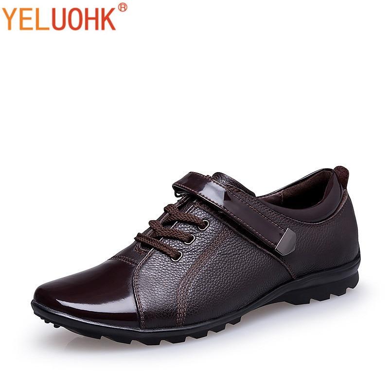 38-47 Patent Leather Men Oxfords Shoes For Men Dress Shoes Formal Plus Size High Quality