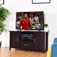 Giantex Modern TV Cabinet Media Unit Storage Shelf TV Stand Media Console Furniture Home Living Room Furniture HW60336