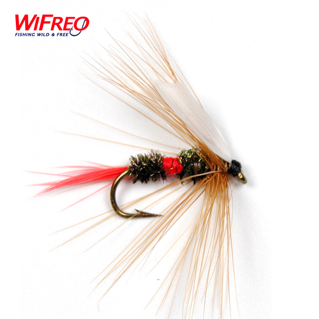 10PCS Royal Wulff Dry Flies for Trout Fly Fishing Size # 10 Free Box