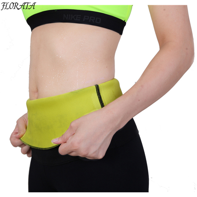 Fashion Neoprene Sauna Sweat Belt Fitness Stretch Waist Trainer Body Shaper Tummy Cincher Corset Slim Belly Binder Trans