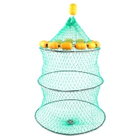 3 layer Fishing Net Mesh Fish Trap Outdoor Portable Collapsible Shrimp Fishing Net Buoyancy Live Bait