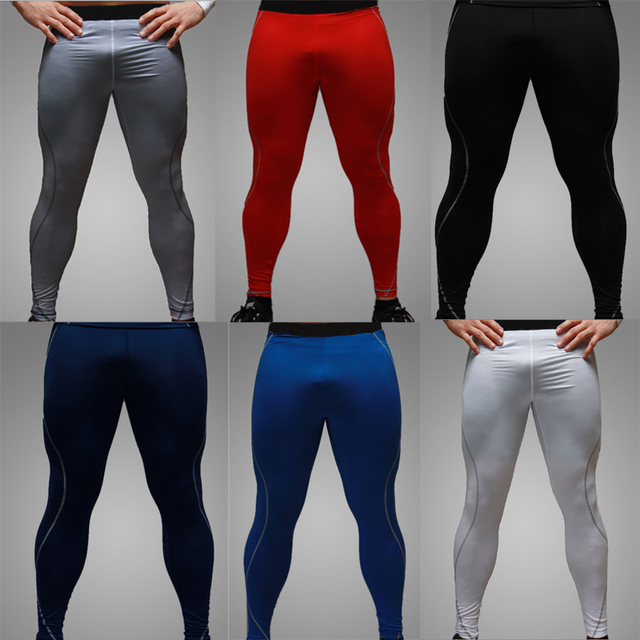 4494b2448ae9a Men Women Fitness Compression Pant Base Layer Under Sport Gear Wear Skin  Tights
