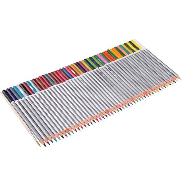 24, 36, 48 Farben Aquarell Bleistifte mit Freies Pinsel ...