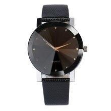 Fashion Luxury Quartz Sport Military Stainless Steel Dial Leather Band Wrist