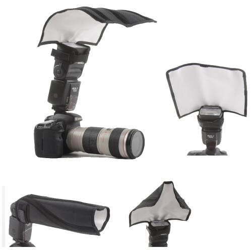 Flash Diffuser Universal Foldable Flash Reflector Snoot Diffuser Softbox for Canon Nikon Sony Yongnuo Pentax