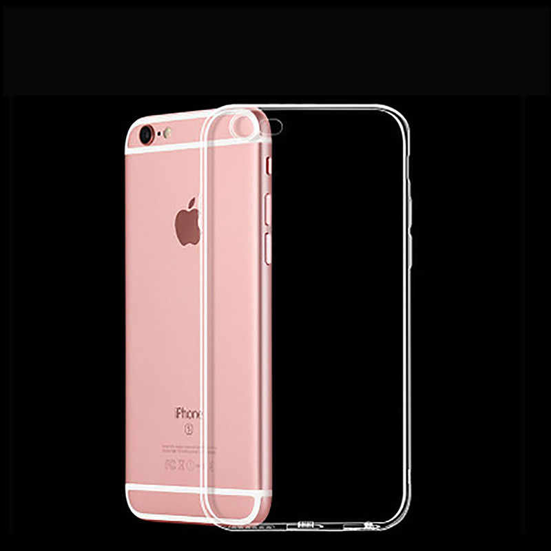 1pcs Ultra Thin Soft TPU shell mobile phone case Applicable to iphone 4 or 4s protective cover transparent soft shell