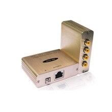 4 CH 複合ビデオバランクワッドビデオバラン ntsc 、 PAL 、 SECAM ビデオフォーマット病院ビデオトレーニング会議