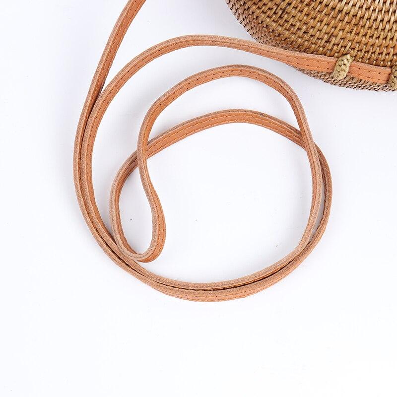 Rotin Designer Ronde D'été Sacs Marque Plage Sac À Mode Pour Main De Blogueur Vacances Arpimala Kaki Paille En Femmes Bali Célèbre wIqS0A