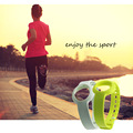 2 PCS Mixed Colors Replacement TPU Wrist Band Strap for Jawbone Up Move Smart Watch L Random Color