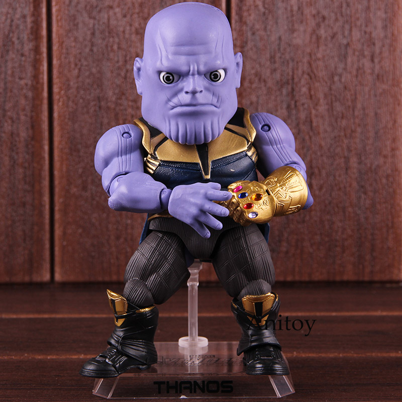 Action Figure Marvel Avengers Infinity War Thanos Egg Attack Action EAA-059 PVC Collectible Model Toy 1