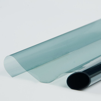 39.37x100ft Car Nano Ceramic Film Automobiles Protective Solar Tints Light Blue Color 65% VLT 1x30m roll