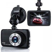 Новый 1080 P Мини автомобиль 3,0 дюймов камера DVR видео регистраторы мониторы ночное видение 145 градусов тире камера