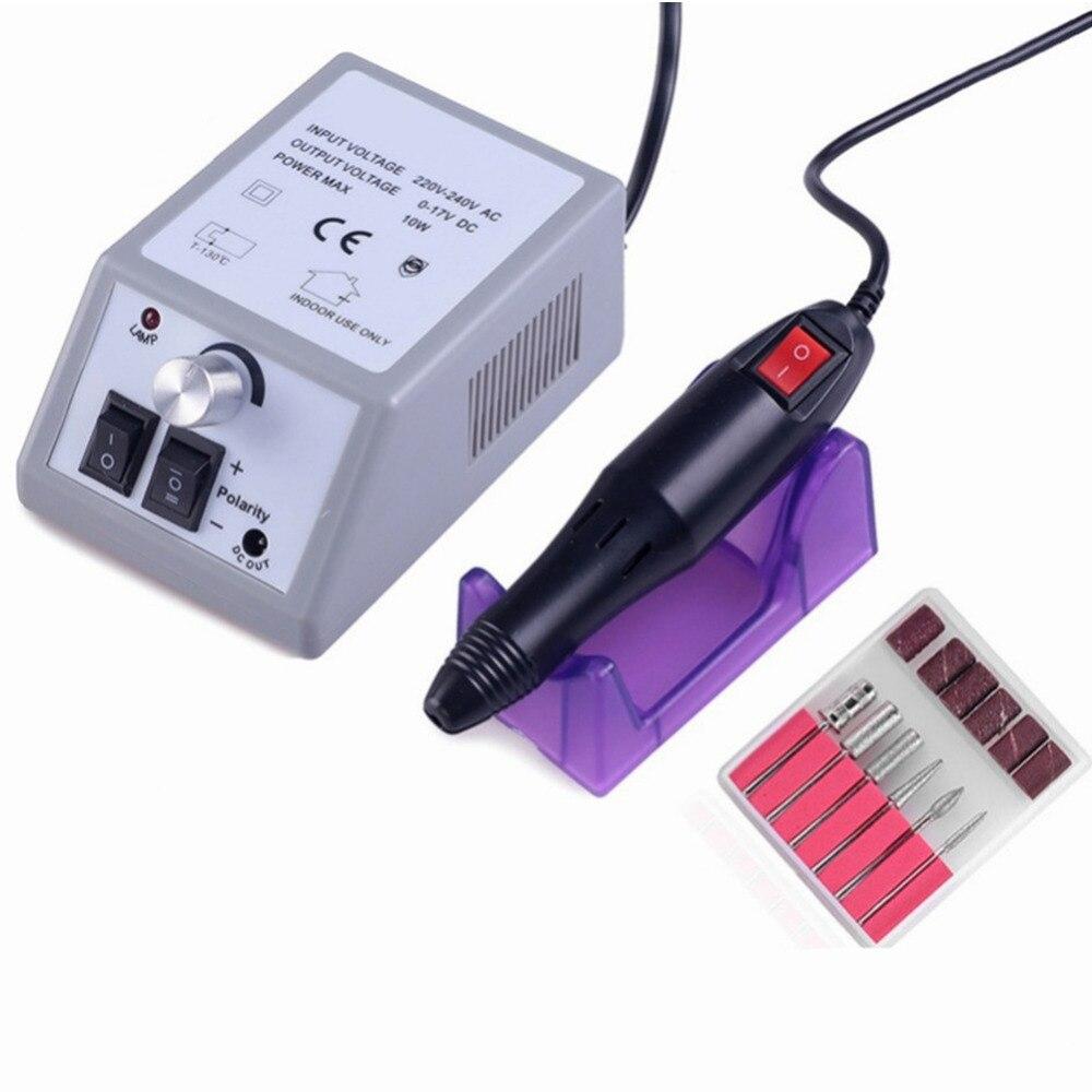 Cutter Für Maniküre Elektrische Nagel Bohrer Fräsen Cutter Für Maniküre Nagel Bohrer Bits Keramik Mühle Maniküre Maschine 110 v- 240 v