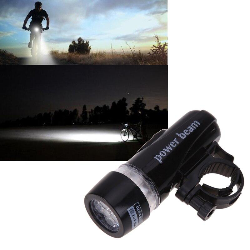 5 lampe de poche LED vélo vélo torche Flash lumière vélo lumière vélo accessoires