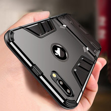 цена на Luxury 3D Cool Armor Case For iPhone 8 7 6 6S Plus 5 5s SE Hybrid Shockproof Rugged Case For iPhone X XS MAX XR Stand Cover Case