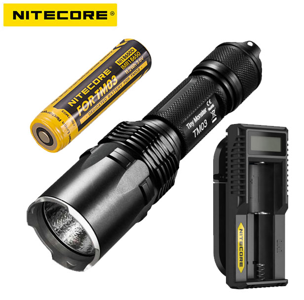 Original Nitecore Tm06 3800 Lumens 4*cree Xm-l2 U2 Leds Tiny Monster Ipx-8 Tatical Location Beacon+3*nl186 Battery Ace Cheapest Price From Our Site Led Flashlights