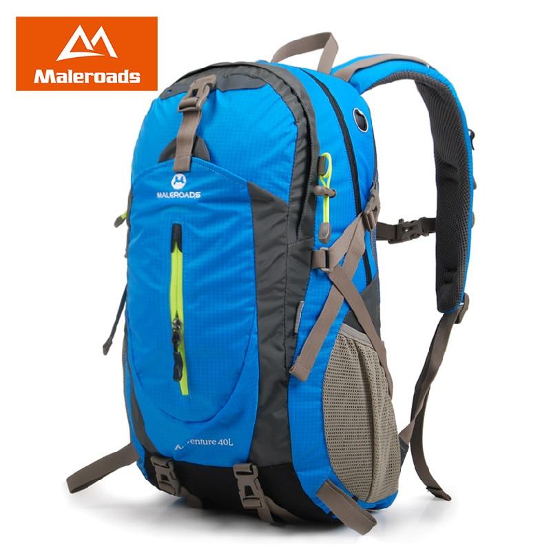 Maleroads 40l Classic Travel Backpack Outdoor Camping Hiking Mochilas Waterproof Nylon Trekking Climbing Back Bags For Men Women In From