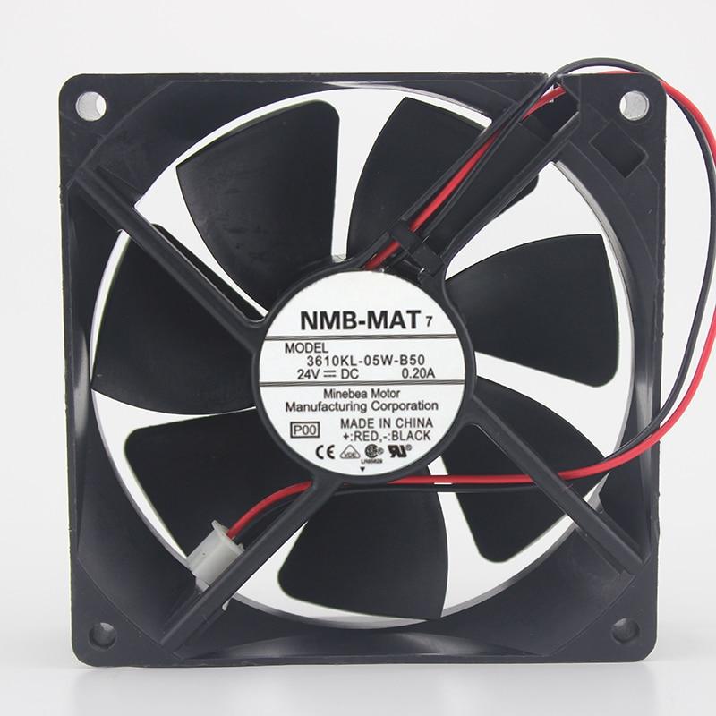 Новый оригинальный 9025 инверторный Вентилятор охлаждения IPC 24 В 0.20A 3610KL-05W-B50 / B59 9 см