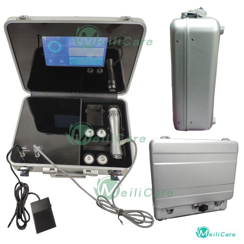 Disfunción eréctil de alta calidad 7 transmisores máquina de terapia de ondas de choque extracorpórea terapia de ondas de choque para el alivio del dolor