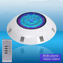 24 LED RGB Underwater Swimming Pool Light Multi-Color 12V 24W RGB+Remote Controller Outdoor Lighting aterproof Lamp